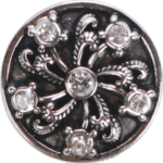Silbernes Ornament dunkel